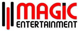 MAGIC ENTERTAINMENT LOGO - on White